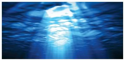 Light ocean